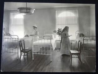 Pacientes en el Hospital St. Mary's