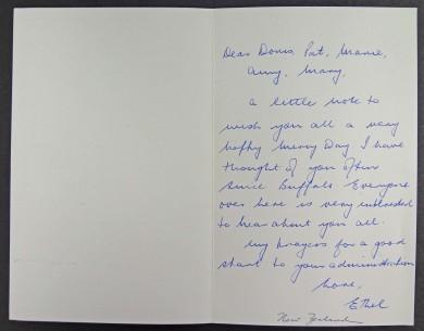 Carta de las Hermanas de la Misericordia de Nueva Zelanda