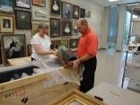 Día de mudanza para la Colección de la Comunidad Regional de Auburn