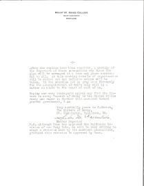 Carta de la Madre Carmelita Hartman a las Madres Superioras de la Misericordia en todo Estados Unidos (2)
